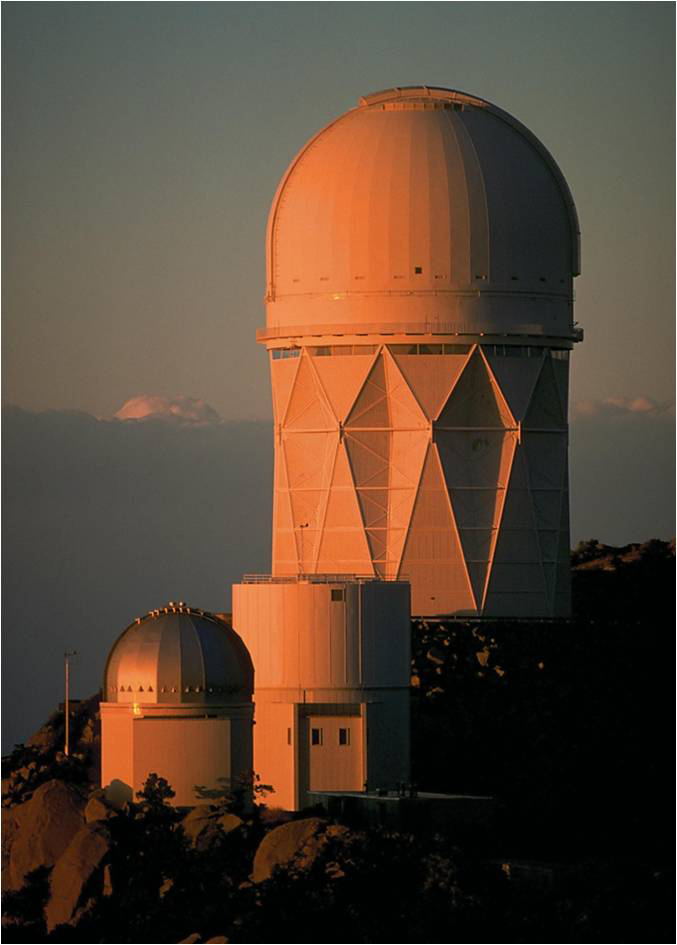 Kitt Peak Observatory in Southern Arizona